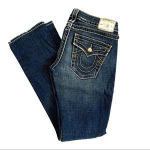 True Religion Disco Billy Straight Leg Jeans 27